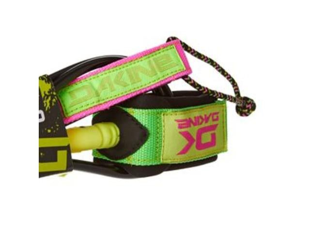 "Leash DaKine Kainui Team 6""1/4 Lime Pink"