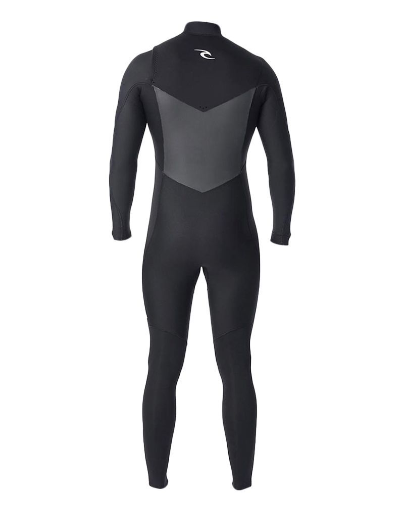 Long John Rip Curl Dawn Patrol  E5 3.2mm Chest Zip Preto