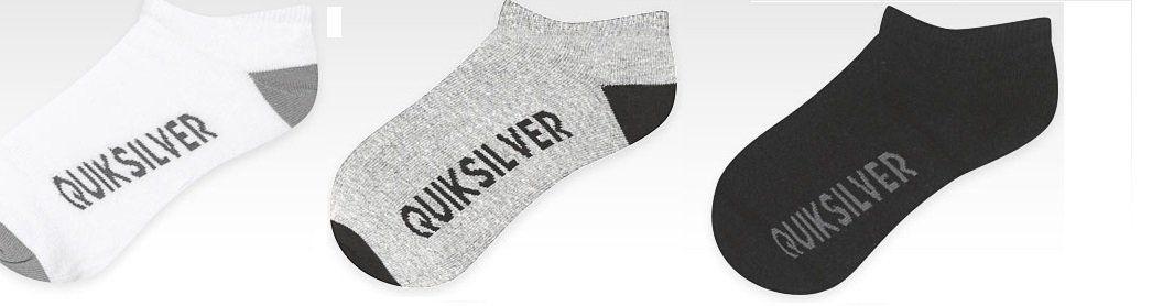 Meia Quiksilver Kit 3 pares 39/42