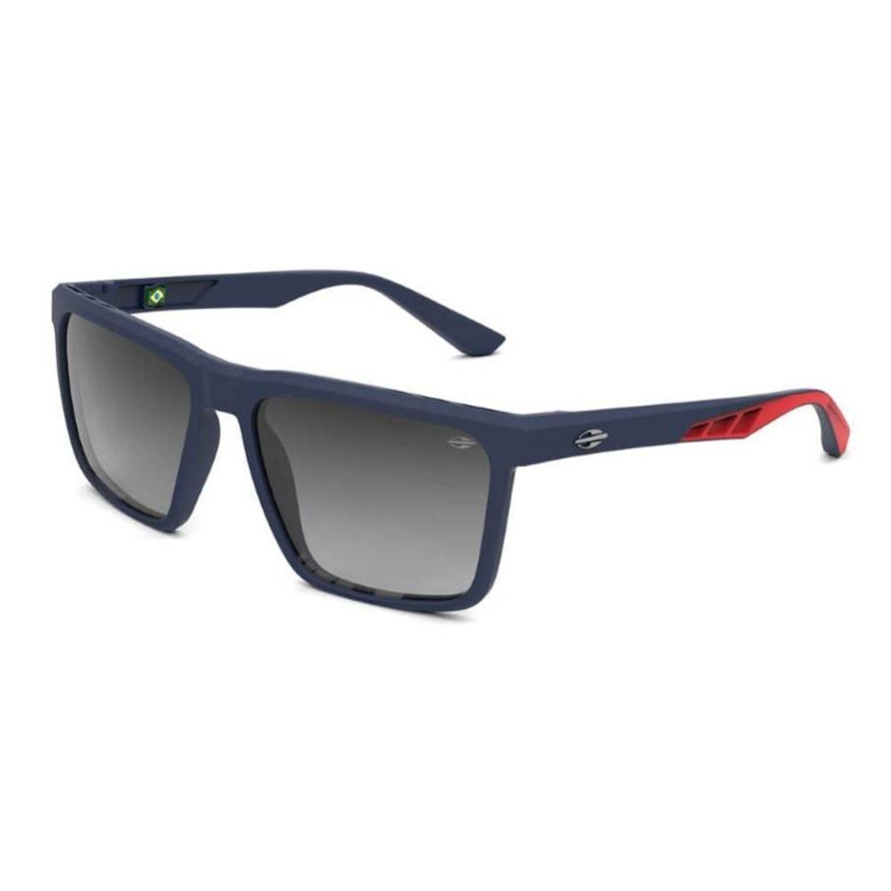 Óculos de Sol Mormaii Madri Azul fosco/ Vermelho M0095KC433