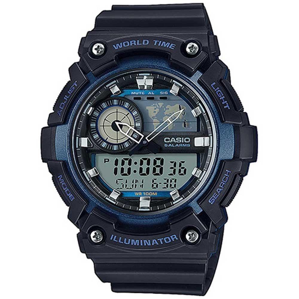 Relógio Casio Analógico Digital  AEQ-200W-2AVDF-SC Preto