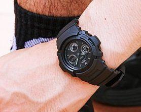 Relógio Casio AW-591BB-1ADR Preto