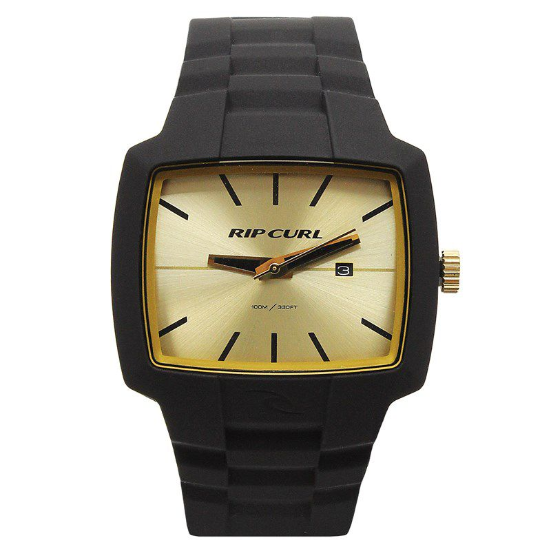 Relógio Masculino Rip Curl Tour XL Preto / Dourado