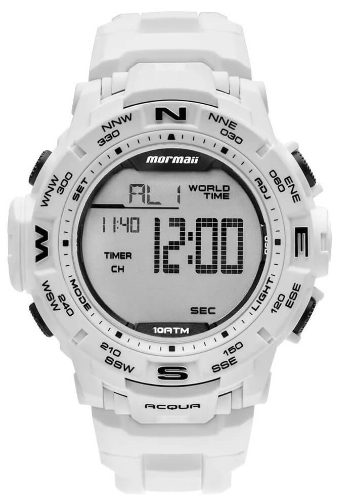 Relógio Mormaii MO1173E/8B Branco
