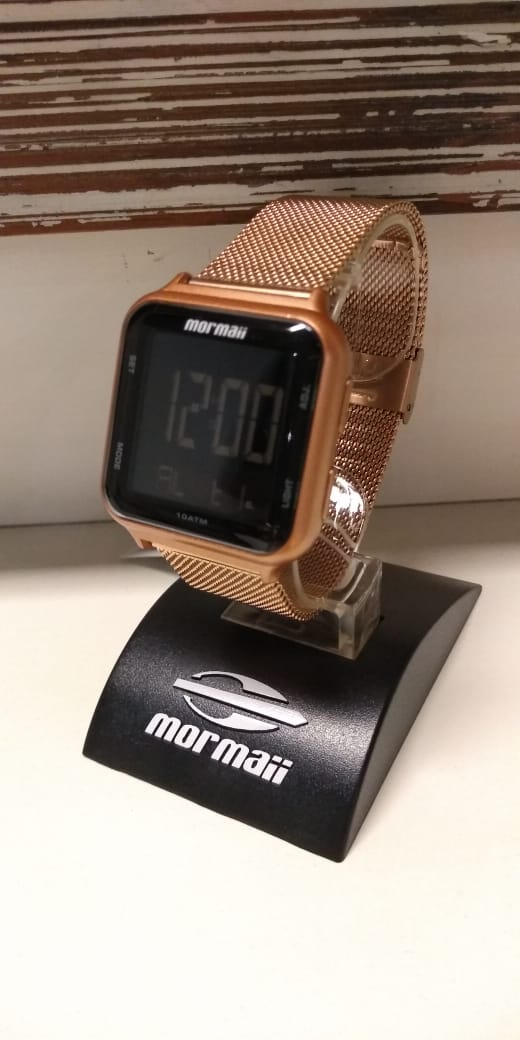 Relógio Mormaii Wave Rose Digital MO6600AF/8J