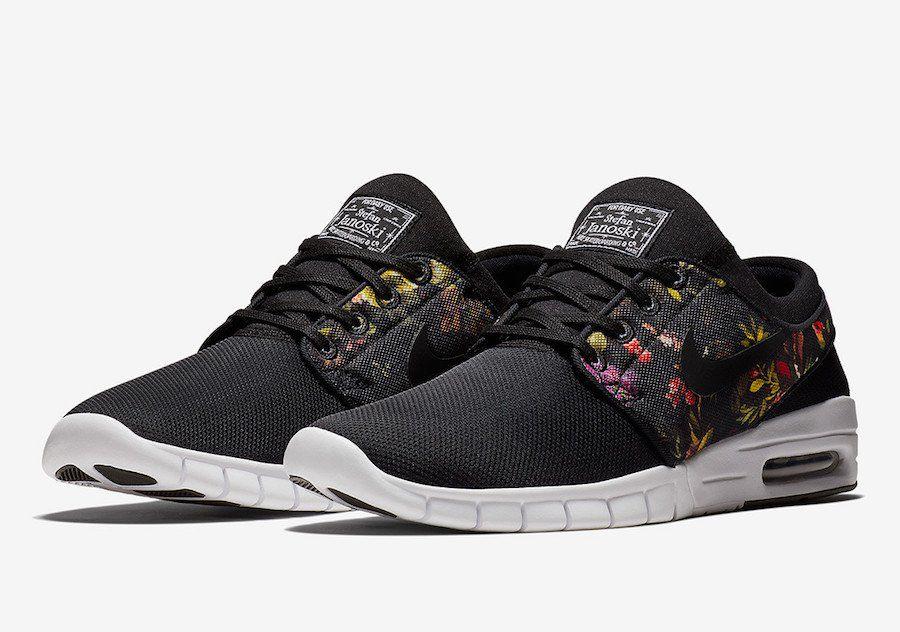 Tênis Nike SB Stefan Janoski Max Colors