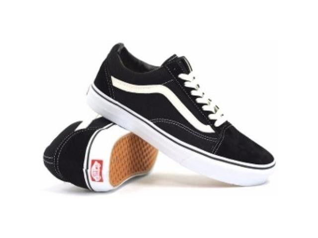 Tênis Vans Old Skool Black / White