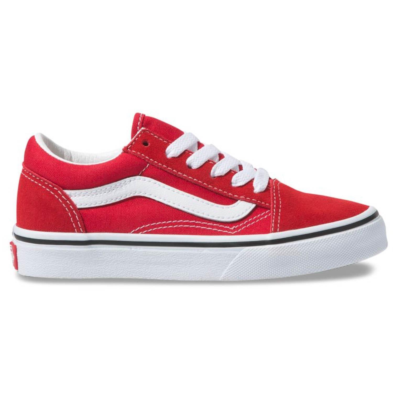 Tênis Vans Old Skool Racing Red/ White