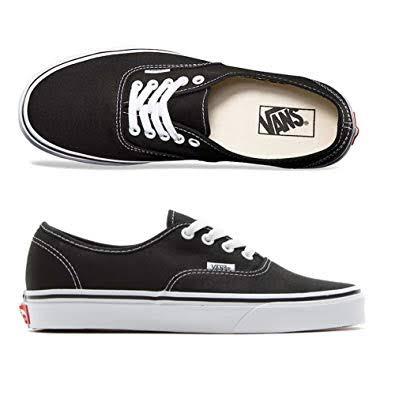 Tênis Vans UA Authentic Black/ White