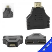 ADAPTADOR HDMI 1 MACHO 2 FEMEA