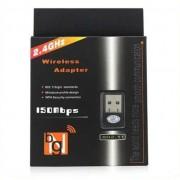Adaptador Wireless Usb  WFI  802.11n Nano 2.4GHz - Bgn