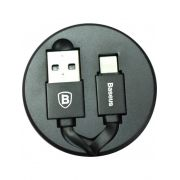 CABO USB RETRÁTIL BASEUS IPHONE 90CM