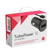 Carregador Veicular Motorola TurboPower 15
