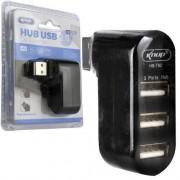 Hub USB 2.0 3 portas HB-T82 Knup