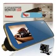 KIT ESPELHO RETROVISOR MONITOR LCD MTM - 143