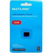 MEMÓRIA MULTILASER CLASSE 10 32GB