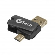 MEMORIA U-TECH 16GB COM ADAPTADOR OTG