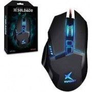 MOUSE GAME X SOLDADO INFOKIT GM-601 PRETO