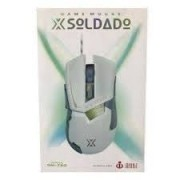 MOUSE GAME X SOLDADO INFOKIT GM-720 PRETO