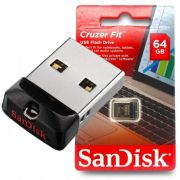 Pen Drive 64gb Sandisk Cruzer Fit Z33