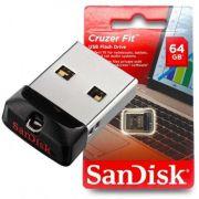 Pen Drive 64gb Sandisk Cruzer Fit Z33