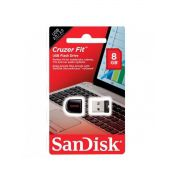 PEN DRIVE CRUZER FIT NANO 8GB - USB 2.0 - SANDISK