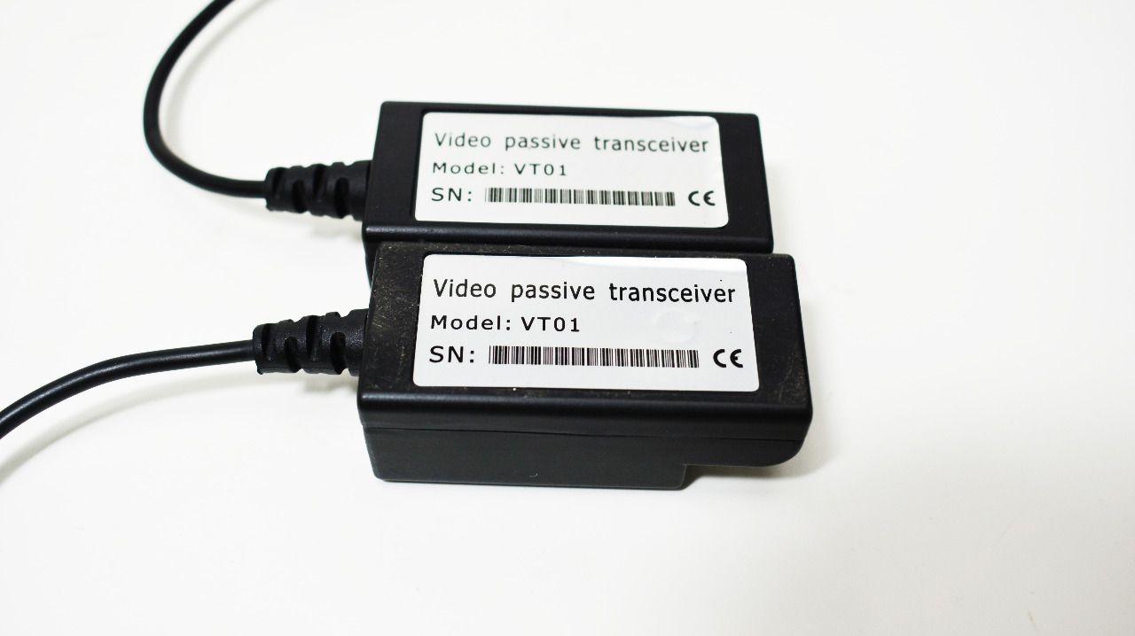 Balun Passivo Cftv Conversor Utp HD Ahd/tvi/cvi