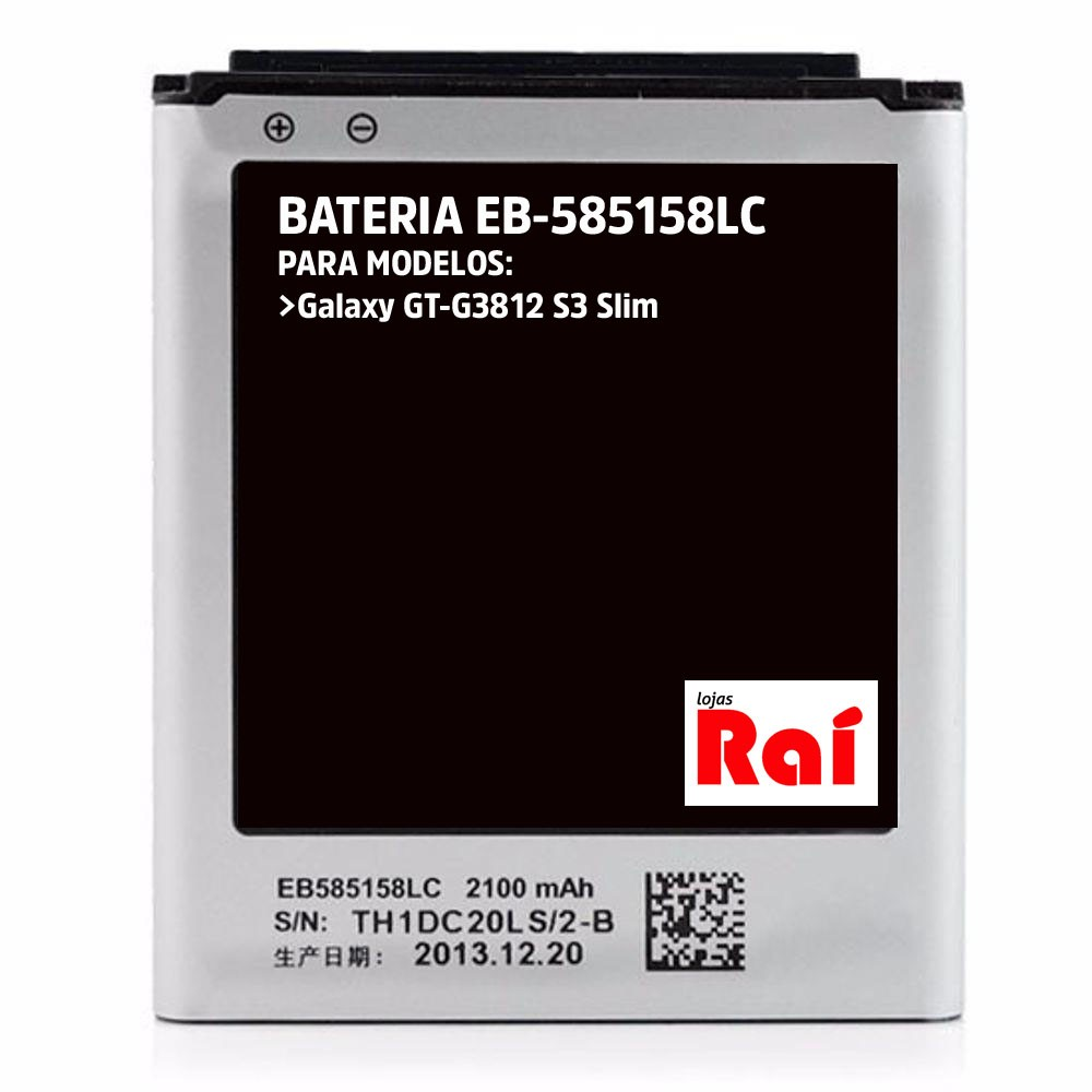 BATERIA CELULAR SAMSUNG EB585158LU (S3 SLIM)