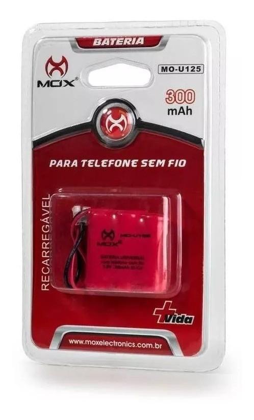 BATERIA PARA TELEFONE RECARREGAVEL MOX MO-U125