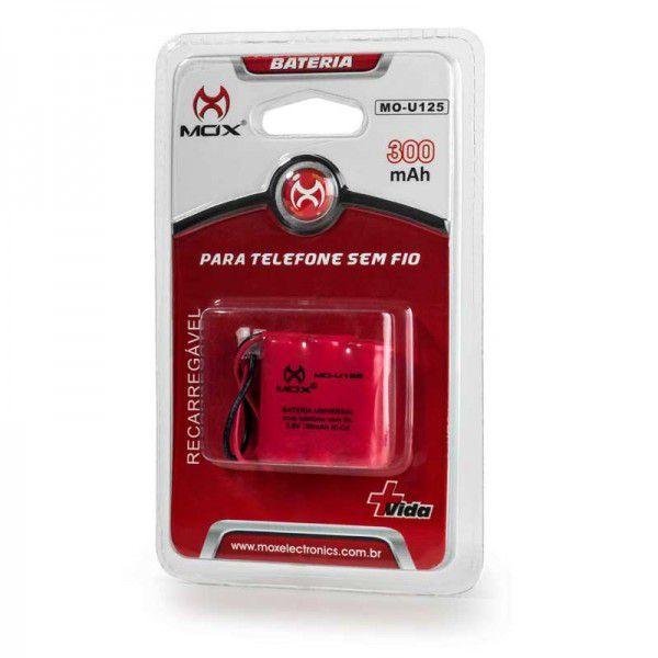 Bateria Para Telefone Sem Fio Mox 300mAh