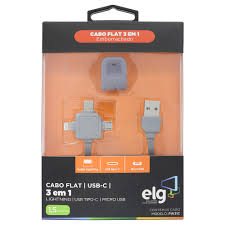 CABO ELG FLAT 3 EM 1 1,5 M