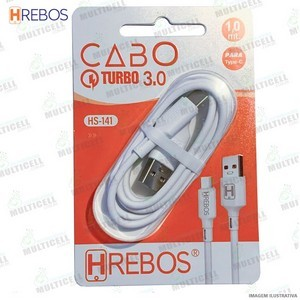 CABO IPHONE HREBOS TURBO 3.0