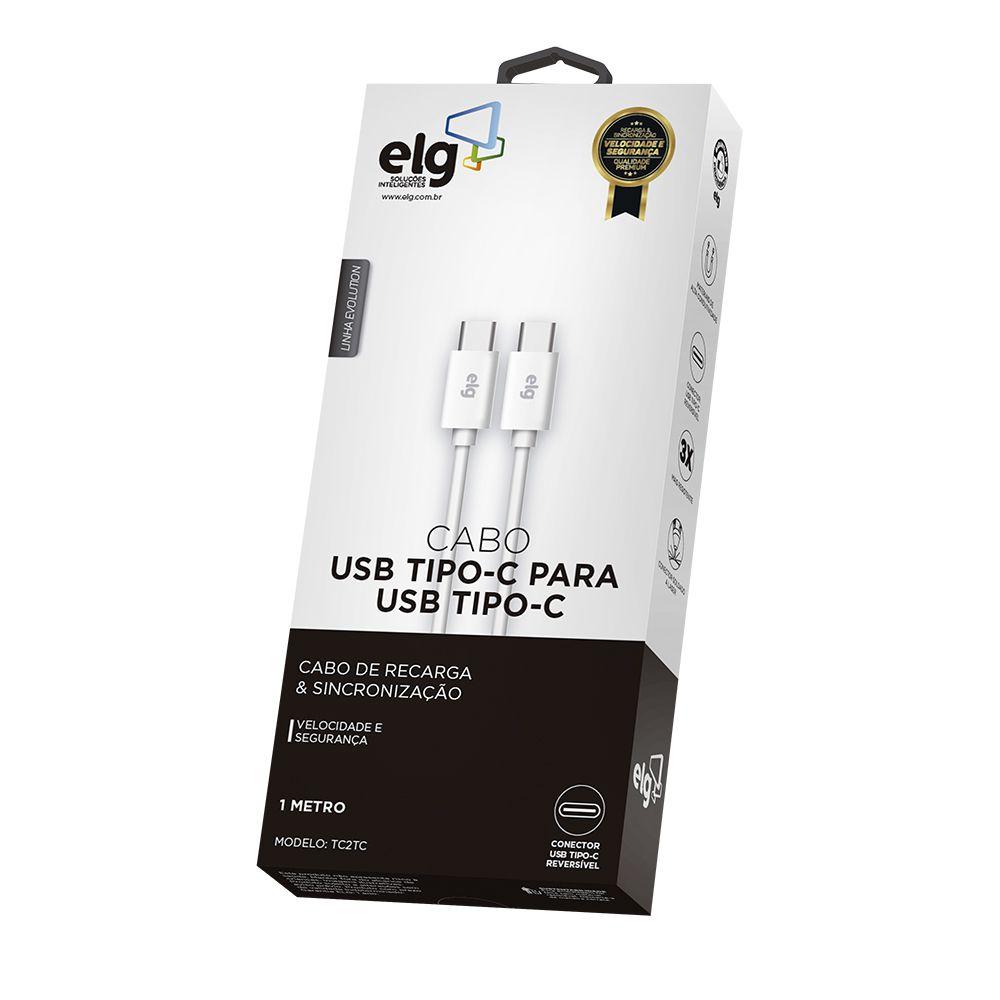 Cabo USB-C Para USB-C