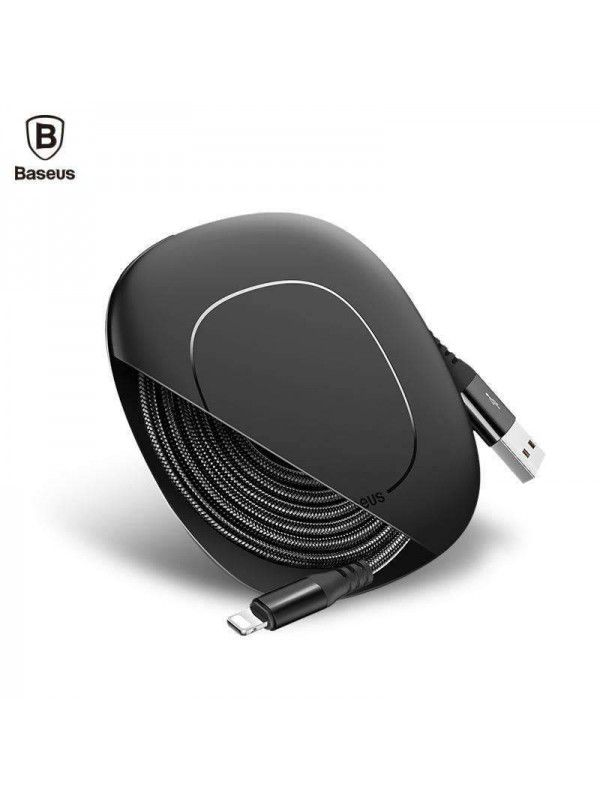 CABO USB RETRÁTIL BASEUS IPHONE 120CM 2A