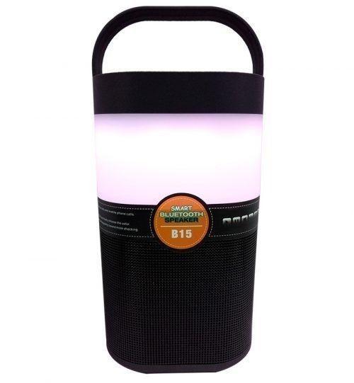 Caixa De Som B15 Bluetooth Inteligente,suporta Tf / Usb