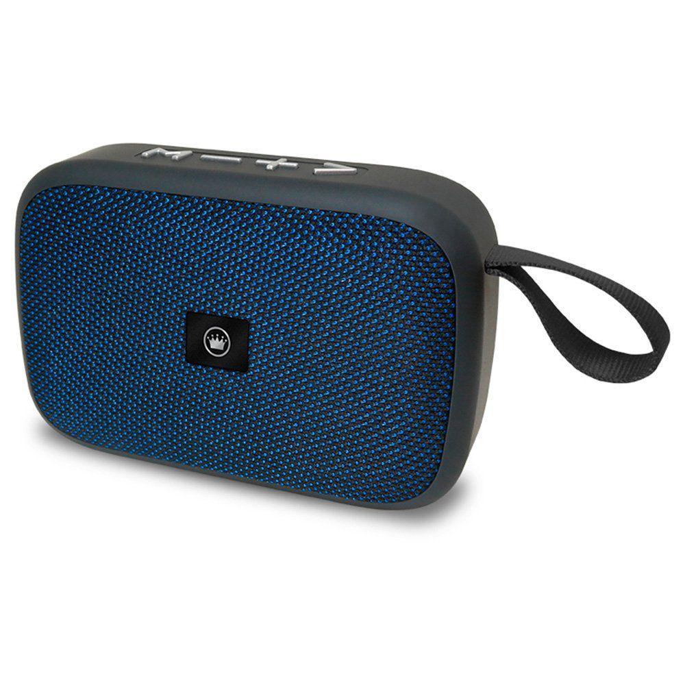 Caixa De Som Bluetooth Portátil 5w Rms Azul