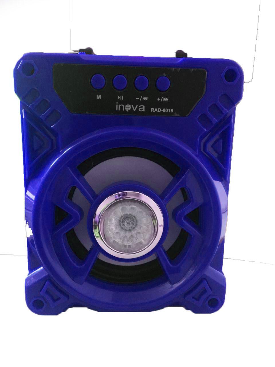 Caixa de Som  Caixa de Som Portátil Bluetooth Fm Rad-8018