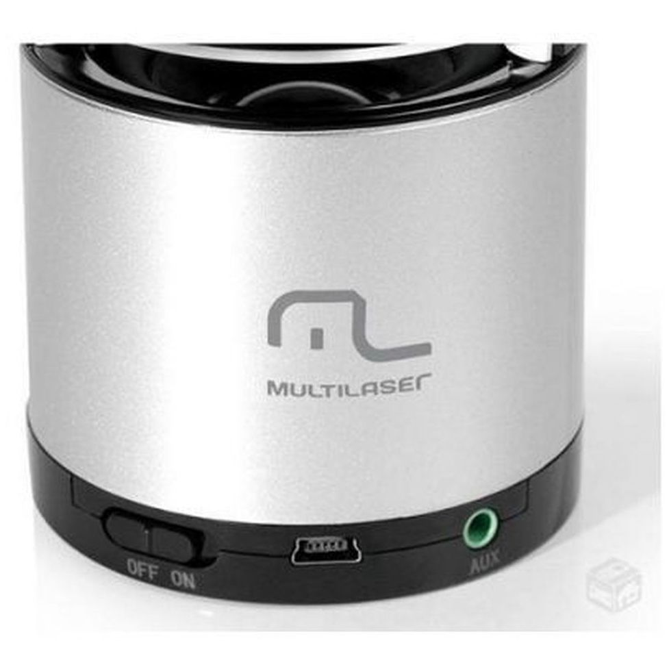 Caixa de Som Multilaser SP155 Bluetooth 10W