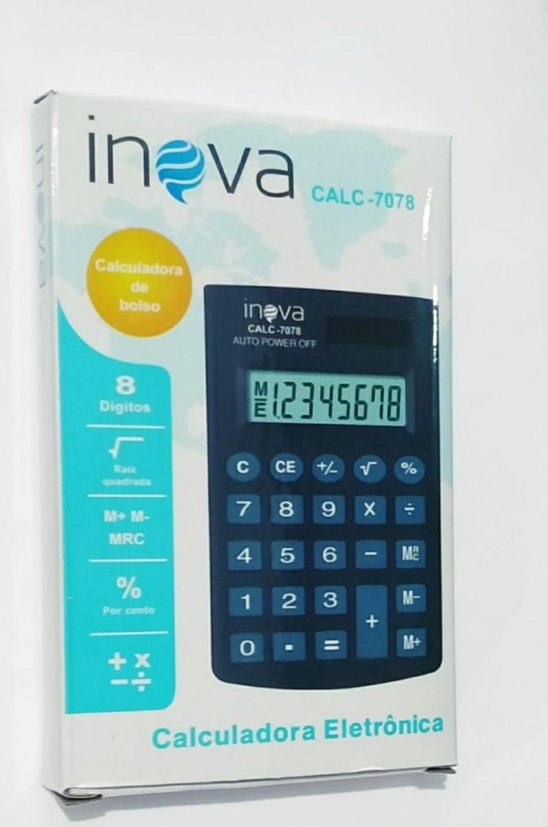 CALCULADORA INOVA CALC-7078