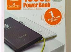 CARREGADOR POWER BANK PORTATIL H´MASTON 10000MAH  PN-951