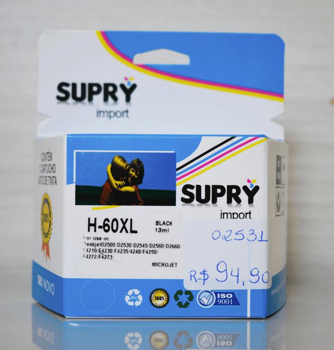Cartucho de Tinta Para Impressora HP HP-60xl 18ml Color