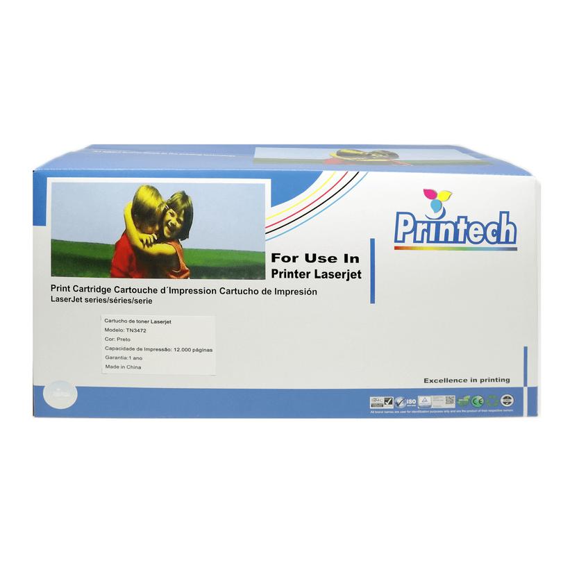 Cartucho de Toner para Impressora Brother TN880 TN3472 – 12k PRINTECH