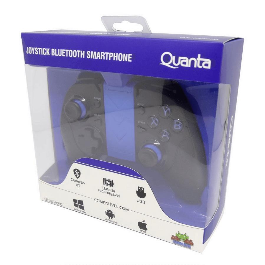 Controle Sem Fio Joystick Bluetooth para Smartphone