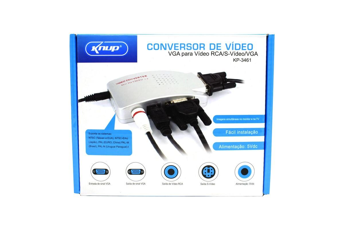 CONVERSOR DE VIDEO VGA PARA VIDEO RCA KP-3461