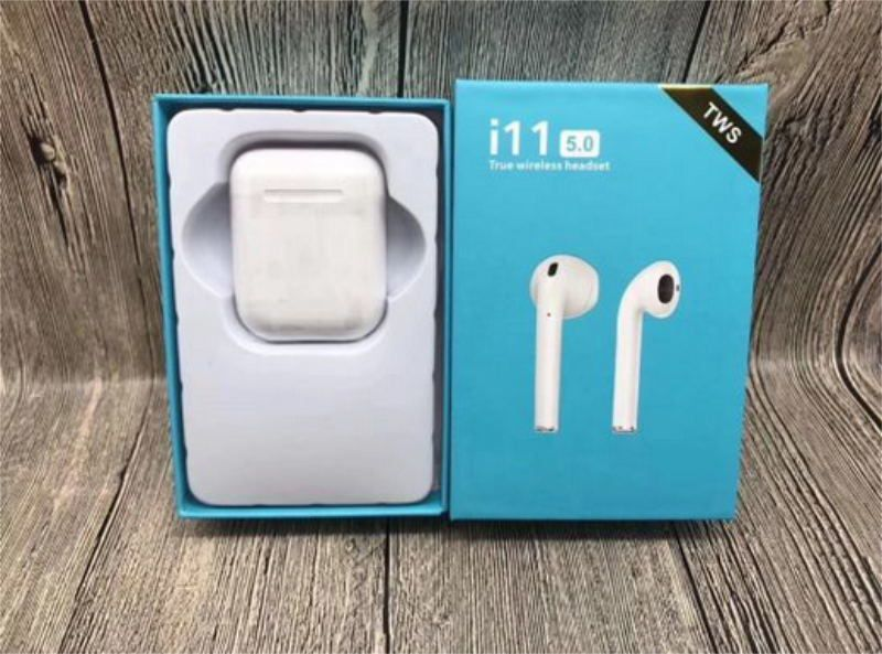 Fone De Ouvido Bluetooth i11 TWS Com Case De Carregamento