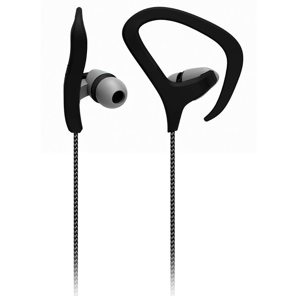 Fone de ouvido Earhook Multilaser c/ Microfone Preto - PH163