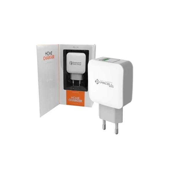 FONTE PMCELL HOME CHARGER USB 5V /9V/ 12V 15W HC-31