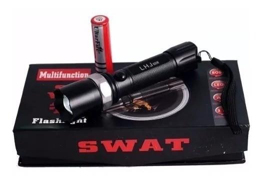 LATERNA SWAT MULTIFUNCTION 3.7V