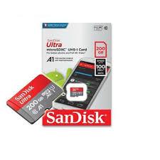 MEMÓRIA SANDISK ULTRA 200GB MICRO SD XC
