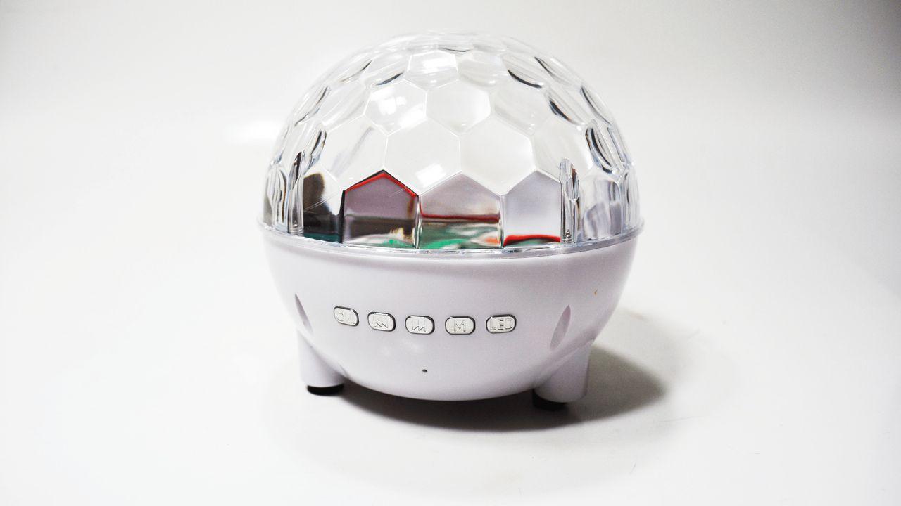 Mini Caixa De Som Portátil Com Luzes RAD-396Z